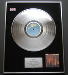 ABBA - The Visitors PLATINUM LP presentation Disc